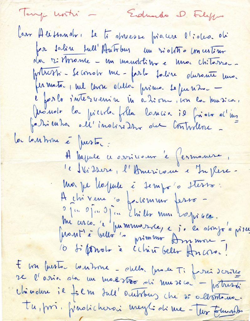 Dossier Blasetti: il Don Corradino tratto da Tempi nostri (1954)
