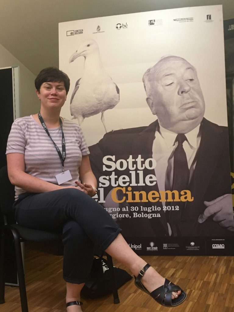 Interview with Pamela Hutchinson at Cinema Ritrovato 2018