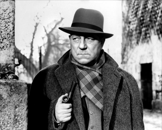 Jean Gabin e Jules Maigret