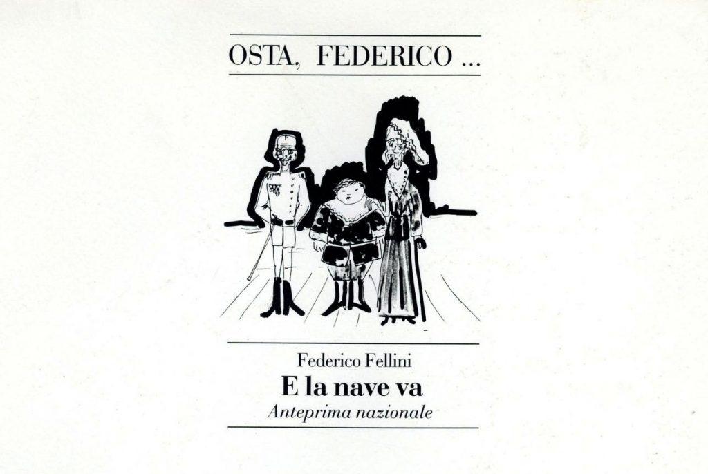 Italo Calvino, Federico Fellini e il transatlantico Gloria N.
