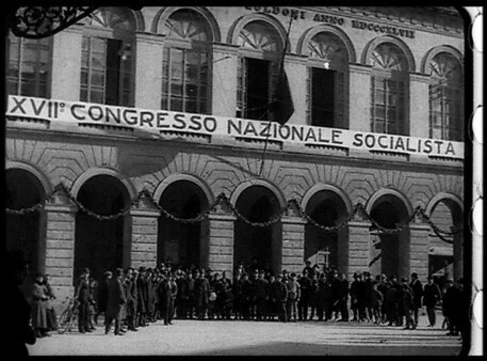 Cecilia Mangini e le immagini del Congresso Socialista di Livorno cento anni dopo