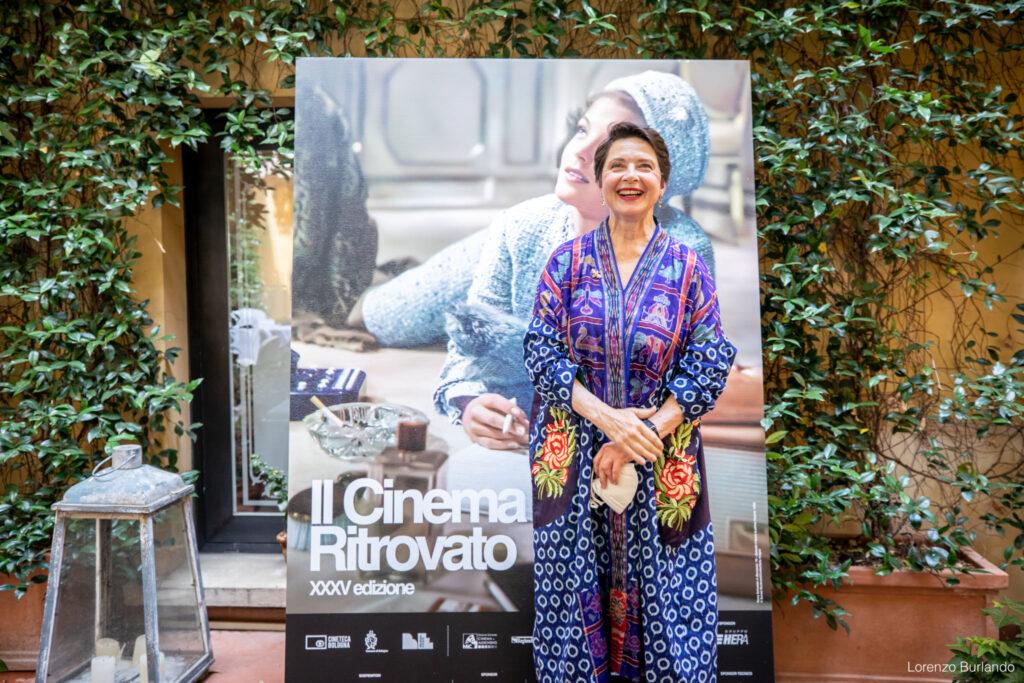 Incontro con Isabella Rossellini